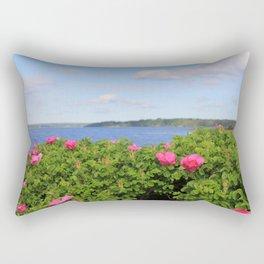 Melmerby Beach Wild Rose Rectangular Pillow