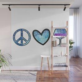 Sweet Peace Love & Wine Wall Mural
