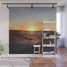 Off-Season Sunsets Wall Mural