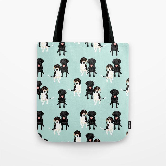 Jasper and Bella Pattern Tote Bag