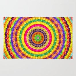Batik Bullseye Rug