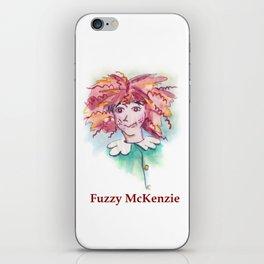 Fuzzy McKenzie iPhone Skin