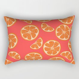 Orange slices Rectangular Pillow