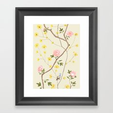 Jenny Chinoiserie  Framed Art Print