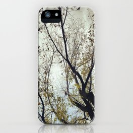 Tree of Birds iPhone Case