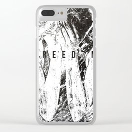 Feed on the powerless 1991 Clear iPhone Case