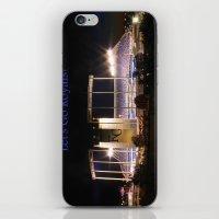kansas city iPhone & iPod Skins featuring Kauffman Stadium, Kansas City by Xhoshannah