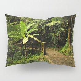 Tropical Forest Path Pillow Sham