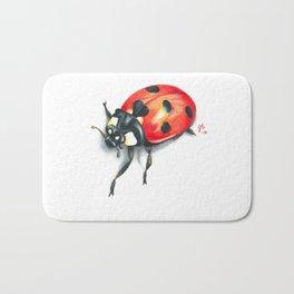 Ladybug Bath Mat