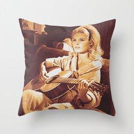 BB guitar Throw Pillow