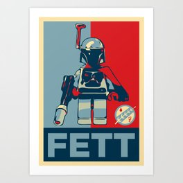 FETT Art Print