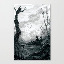 The Spirit Lives On Canvas Print