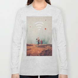 Wirelessly connected to Eternity Long Sleeve T-shirt