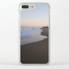 Virginia Beach Oceanfront Clear iPhone Case