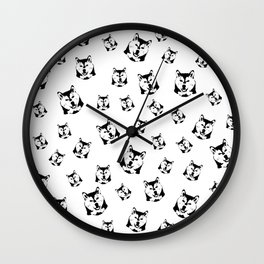 CHRISTMAS GIFTS FOR THE SHIBA INU DOG LOVER Wall Clock