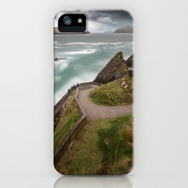 Dunquin Pier,Kerry,Ireland iPhone Case