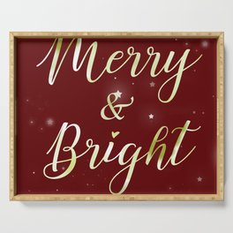 Merry & Bright Serving Tray