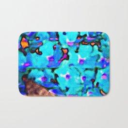 Blue Butterfly Bush  Bath Mat