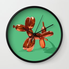 Taking the Piss Wall Clock