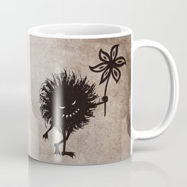 Evil Bug Gives Flower Coffee Mug