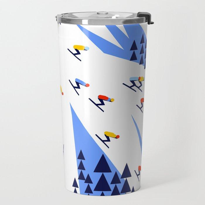 THE MOUNTAINS. PERFECT DAY! Travel Mug