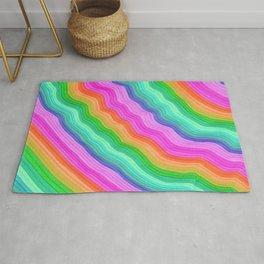 Wiggle Stripes Rug