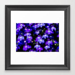 Deep Purple Passion Framed Art Print