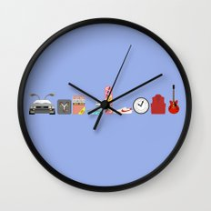 Back to the Future - Iconic Props Wall Clock