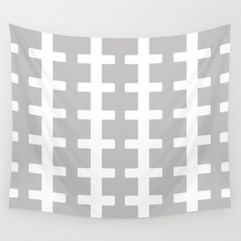 GRAY/WHITE  + Wall Tapestry