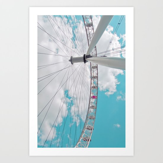 eye in the sky... Art Print