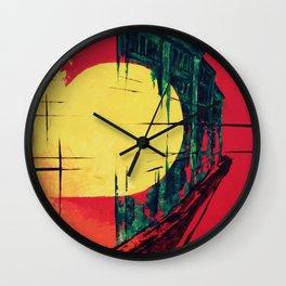 town_pt.2-4 Wall Clock