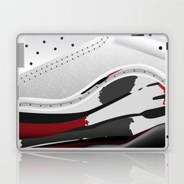 ABSTRACT SNEAKER JUMPMAN 8 Laptop & iPad Skin