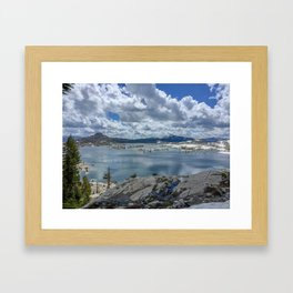 Lake Aloha Framed Art Print