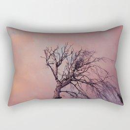 DEAD TREE SUNSET Rectangular Pillow
