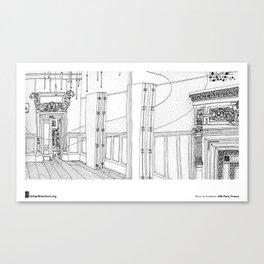 """Fleur de Kookyse, """"Mairie du 13e, Paris"""" Canvas Print"""