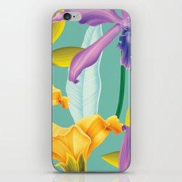 Colorflowers iPhone Skin