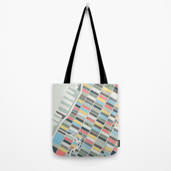 New York City Tote Bag By