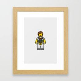 The Hangover Lego Man Framed Art Print