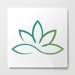 Lotus Metamorphosis    Metal Print