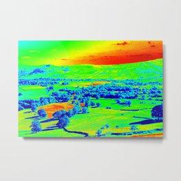 Thermal art 074 Metal Print