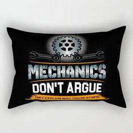 Mechanic Technician Engineering Auto-Mechanic Gift Rectangular Pillow
