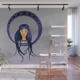 Bohemian Girl - Art Nouveau style Wall Mural