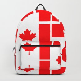 Canadian Flag Backpack