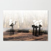 coven Canvas Prints featuring Coven by Infaustus