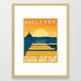 Discover COSTA del SOL | FFXIV Framed Art Print
