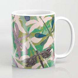 Dancing Dragonflies Coffee Mug