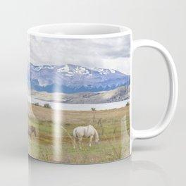 Torres del Paine - Wild Horses Coffee Mug