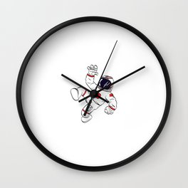 Are You A Fan Of Astronomy? An Astronaut Dreamer? Here's An Antronaut T-shirt Saying Got Space Desig Wall Clock