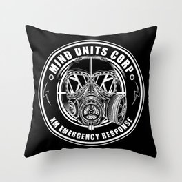 Mind Units Corp - XM Emergency Response Throw Pillow