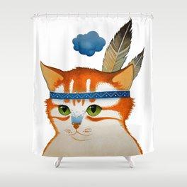 LITTLE QUIET CLOUD by Raphaël Vavasseur Shower Curtain